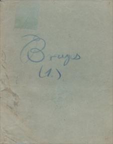 Twórczość Emila Zegadłowicza. Materiały związane z przekładem Zegadłowicza utworu Ryszarda Muthera, Trzy miasta: Rawenna, Bruges, Wenecja
