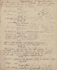Twórczość Emila Zegadłowicza. Nawiedzony – najwcześniejsza redakcja dramatu Nawiedzeni