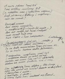 Twórczość Emila Zegadłowicza : wiersze bez daty i bez nadanego tytułu