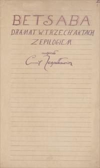 Twórczość Emila Zegadłowicza. Materiały różne, drobne związane z powstawaniem utworów (projekty kart tytułowych, drobne fragmenty tekstów, uwagi, notatki, wydruki)