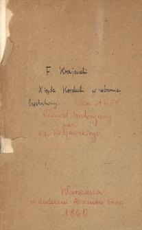 Xiądz Kordecki w obronie Częstochowy w roku 1655 : poemat historyczny