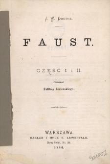 Faust. Cz. 1 i 2
