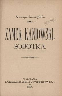 Zamek kaniowski ; Sobótka