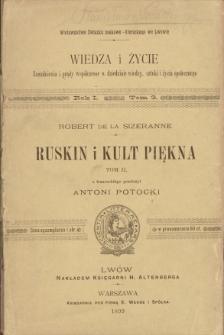Ruskin i kult piękna. T. 2