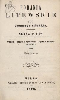 Wyklęty ; Kamień w Olgienianach ; Żegota z Milanowa Milanowski