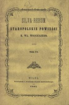 Silva-rerum : staropolskie powieści. T. 2