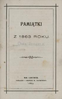 Pamiątki z 1863 roku