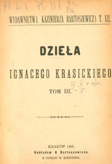 Dzieła Ignacego Krasickiego. T. 3