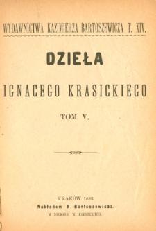 Dzieła Ignacego Krasickiego. T. 5