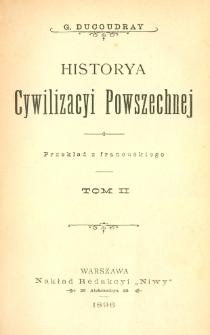 Historya cywilizacyi powszechnej. T. 2