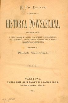 Historya powszechna. T. 11