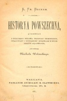 Historya powszechna. T. 9