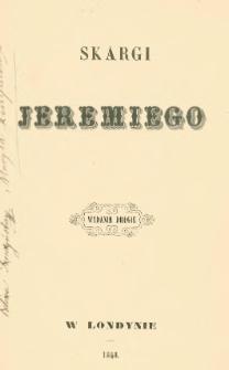 Skargi Jeremiego