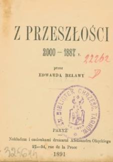 Z przeszłości 2000-1887 r.