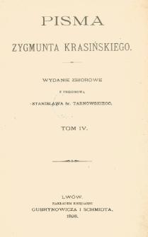 Pisma Zygmunta Krasińskiego. T. 4