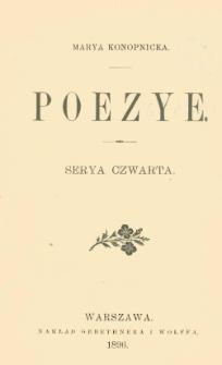 Poezye. Serya czwarta