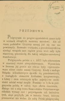 Pamiątka polskiej pielgrzymki do Rzymu w maju 1877 r. z powodu 50-letniego jubileuszu Ojca Św. Piusa IX