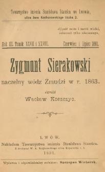 Zygmunt Sierakowski : naczelny wódz Żmudzi w r. 1863