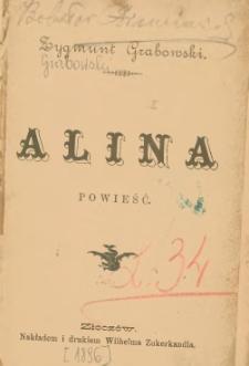 Alina : powieść