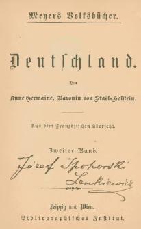 Deutschland. Bd. 2