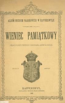 Wieniec pamiątkowy półwiekowej rocznicy powstania listopadowego. Z. 2