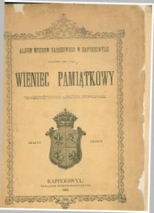 Wieniec pamiątkowy półwiekowej rocznicy powstania listopadowego. Z. 3