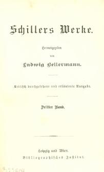 Schillers Werke. Bd. 3