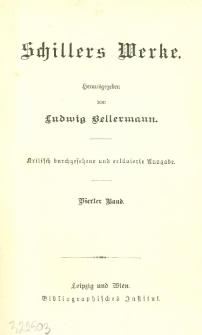 Schillers Werke. Bd. 4