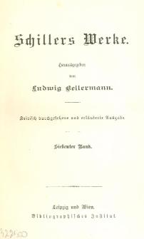 Schillers Werke. Bd. 7
