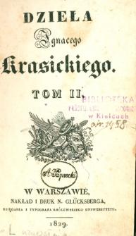 Dzieła Ignacego Krasickiego. T. 2