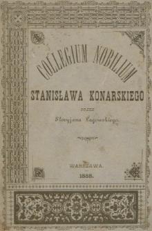 Collegium Nobilium Stanisława Konarskiego