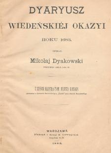 Dyaryusz wiedeńskiéj okazyi r. 1683