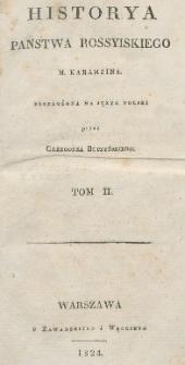 Historya panstwa rossyiskiego M. Karamzina. T. 2