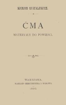 Ćma : materyały do powieści