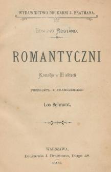Romantyczni : komedja w III aktach