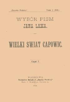 Wielki świat Capowic. T. 2