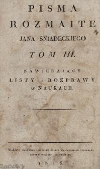 Listy i Rozprawy w naukach
