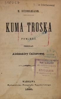 Kuma Troska : powieść