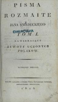 Żywoty uczonych Polaków