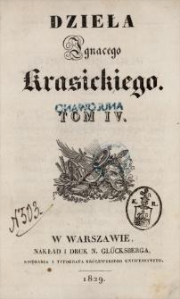 Dzieła Ignacego Krasickiego. T. 4