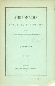Andromache : tragedya Eurypidesa napisana w czasie pierwszej połowy wojny peloponeskiej