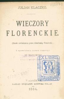 Wieczory florenckie