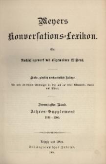 Meyers Konversations-Lexikon : ein Nachschlagewerk des allgemeinen Wissens