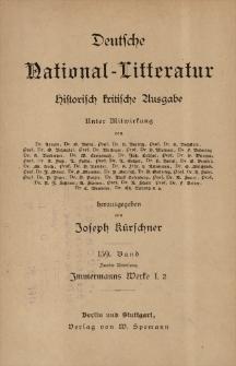 Merlin ; Tristan und Isolde ; Goethe und die falschen Wanderjahre
