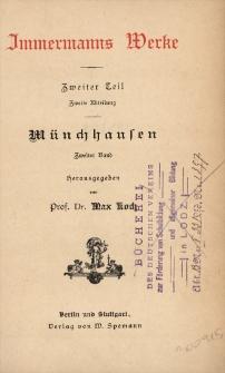 Münchhausen. Bd. 2
