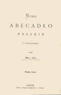 Nowe abecadło polskie z obrazkami