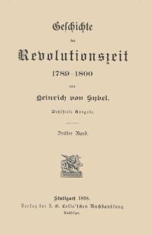 Geschichte der Revolutionszeit, 1789-1800. Bd. 3