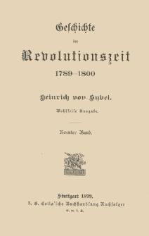 Geschichte der Revolutionszeit, 1789-1800. Bd. 9