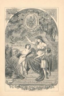 Lessings Werke. Bd. 1