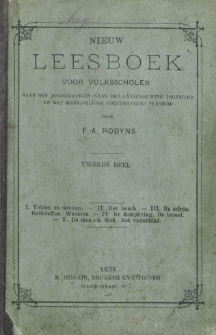 Nieuw leesboek voor R. K. volksscholen : naar den regelmatigen gang der aanschouwing ingericht et met menigvuldige houtgravures versierd. Cz. 2